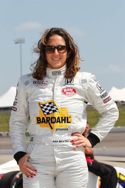 Ana Beatriz Figueiredo Indy Race Driver