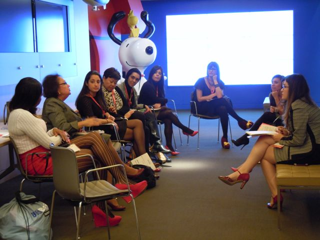 One of the groups of women at the RSM Signature Event at Metlife