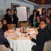 """""""Big sisters"""", senior women within the organization collaborate with professional facilitator to carry out leadership development program"""