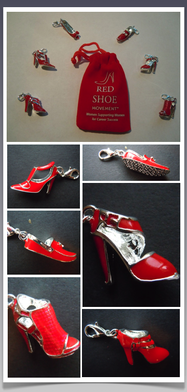 Spring 2014 Red Shoe Movement Charm Collection