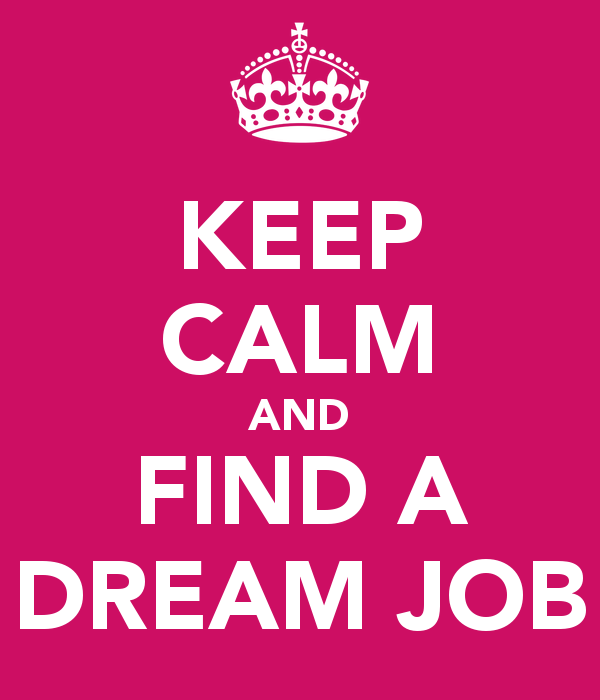 Best way to find a job: Keep calm and diversify your search!