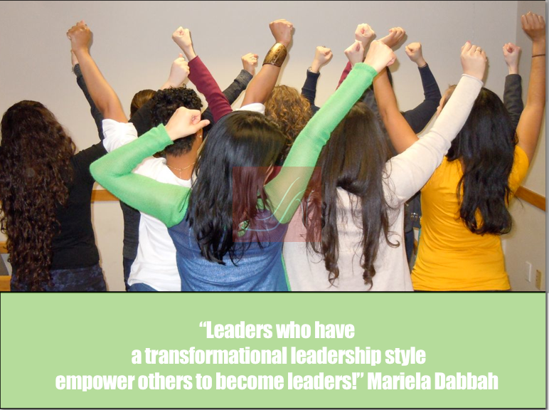 Leaders who have a transformational leadership style empower others to become leaders