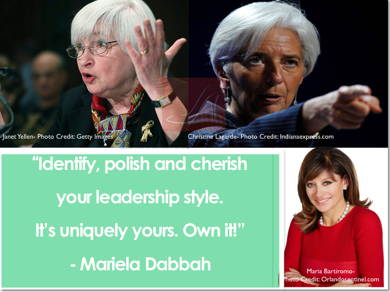 Leadership styles vary wildly from person to person: Identify, polish and cherish your leadership style. It's uniquely yours. Own it!