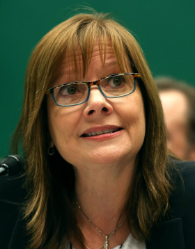 Mary Barra, CEO of GM weighs-in on the old-time issue of life balance and work life separation during interview with Matt Lauer Photo Credit: Time