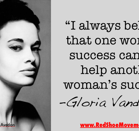 It's true! The success of one is the success of all women! | Gloria Vanderbilt's famous quote