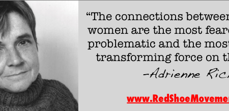 Adrianne Rich quote We can transform the planet together!