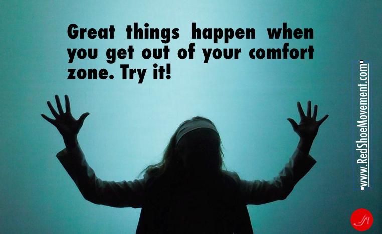 Don't fear trying something new. Great things await! #self esteem quotes