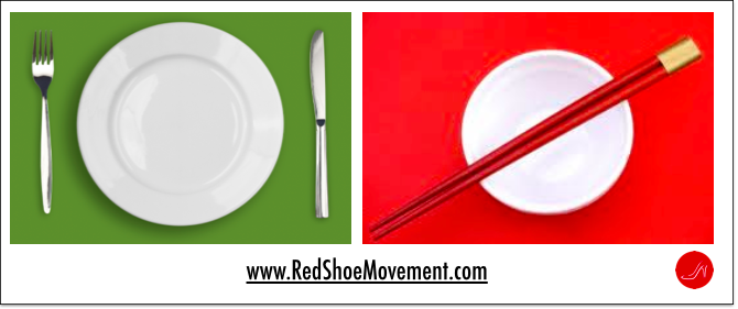 Examples of cultural differences: What utensils we use to eat, what we eat, whether we share our food or not.