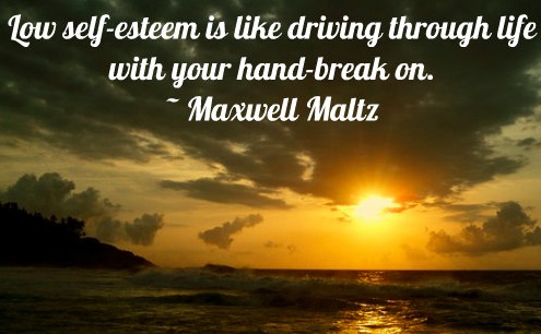 Don't drive with your hand-break on! #Self esteem boosters