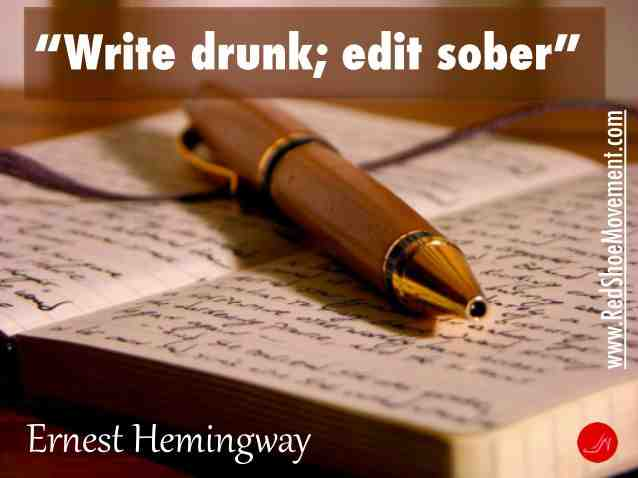 Editing is even more important than writing. Great communication skills call for reviewing all your communication before it goes out.   Ernest Hemingway   21 famous and funny communication skills quotes