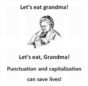 Grammar, spelling, it usually comes down to that! Photo Credit: blog.ivman.com