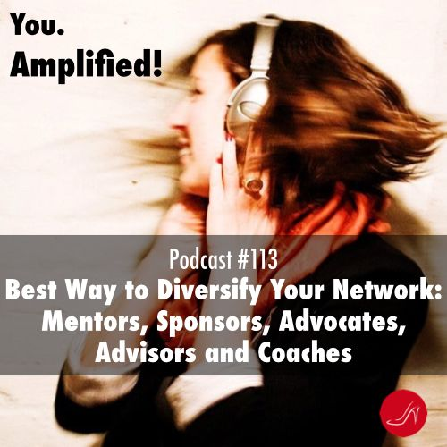 Best way to diversify your network Podcast 113