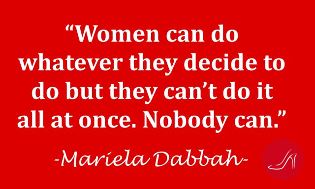 Women can do whatever they want but they can't do it all at once. Nobody Can. | International Women's Day