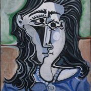 Head of a Woman by Pablo Picasso at the Met