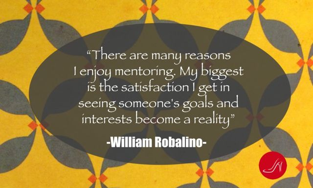 Finding a mentor inspirational quote by Will Robalino