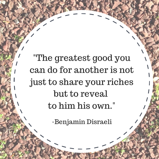 Mentoring quote by Benjamin Disraeli