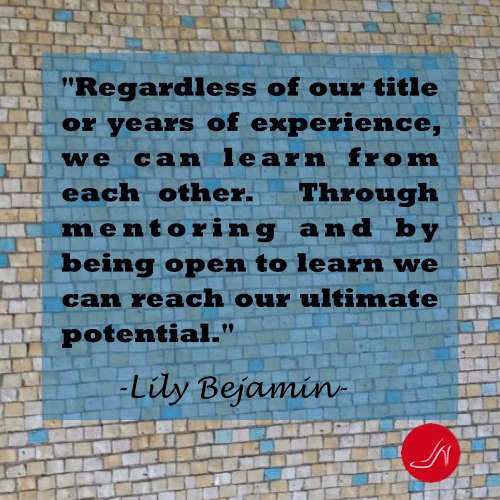 Role model inspirational mentoring quotes by Lily Benjamin.