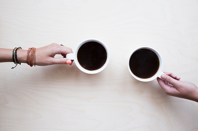 Share coffee with more than one person at a time to expand your network effortlessly.