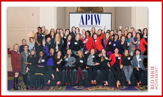 Red Shoe Movement event for the Association of Professional Insurance Women