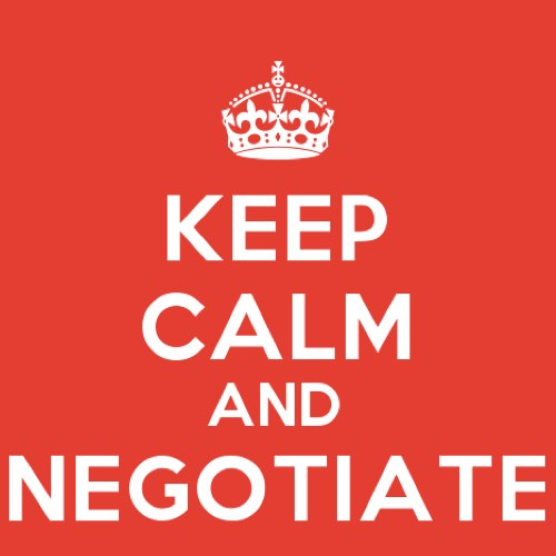 Women are ideally suited to negotiate anything
