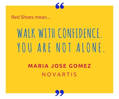 Maria Jose Gómez, Novartis executive, a big supporter of women's career growth