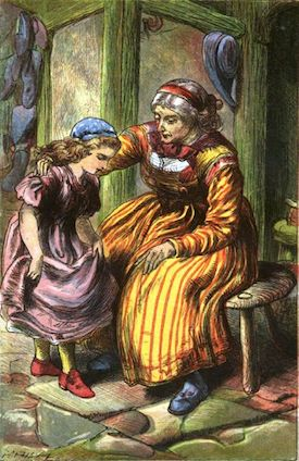Red Shoes Hans Christian Andersen story