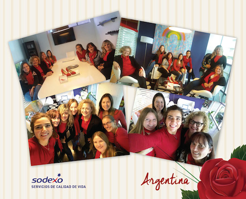 Sodexo Argentina, miembros del Step Up Plus