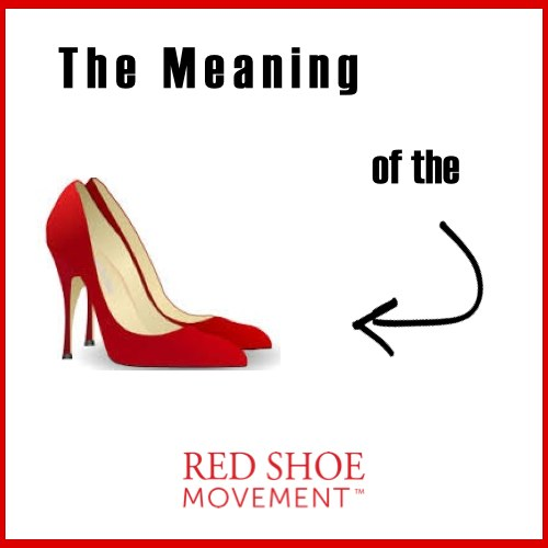 The meaning of the red shoes for the Red Shoe Movement