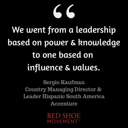Sergio Kaufman argues that female leadership is particularly well suited for the new leadership model