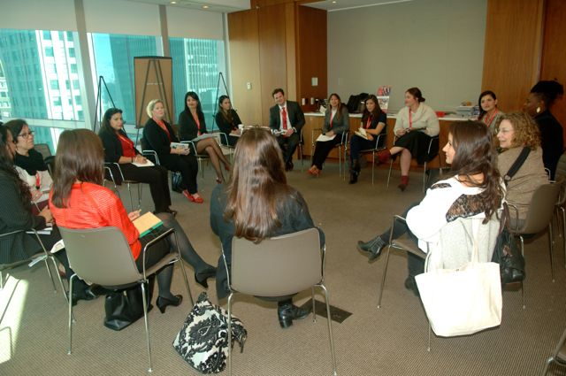 Mutual Mentoring Circle topic: How to Have a Difficult Conversation led by Lily Benjamin