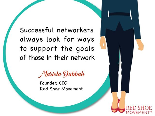 One of the most effective networking strategies: find ways to support the people in your network!