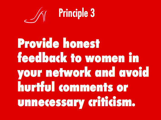 Giving constructive feedback is a cornerstone of the 7 Principles of the RSM