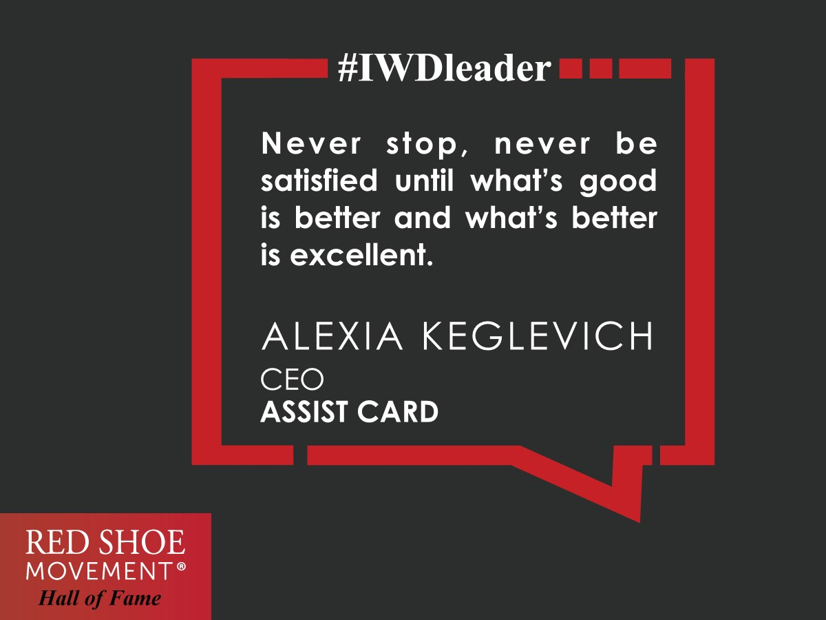 Raised to seek perfection, Alexia Keglevich is always looking for ways to improve.