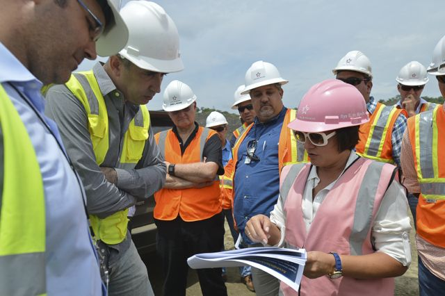 Leading the Panama Canal Expansion, Ilya Marotta broke gender barriers in historically male occupation