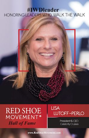 Lisa Lutoff-Perlo, President & CEO, Celebrity Cruises