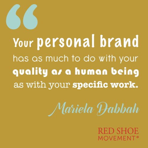 Your personal brand and you as a human being