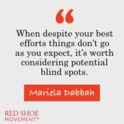Your personal branding can easily be affected by your blind spots.