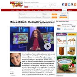 Fox News Latino interview to Mariela Dabbah