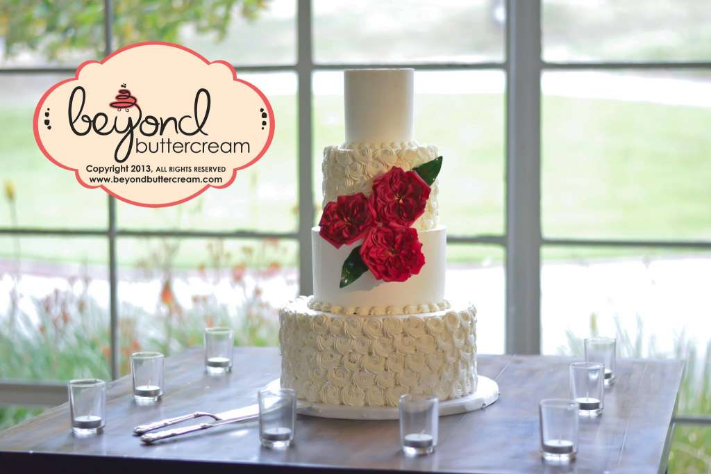 Beyond Buttercream wedding cake