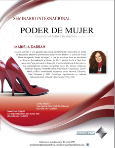 Seminario Internacional Poder de Mujer: Creando el Éxito a Tu Medida