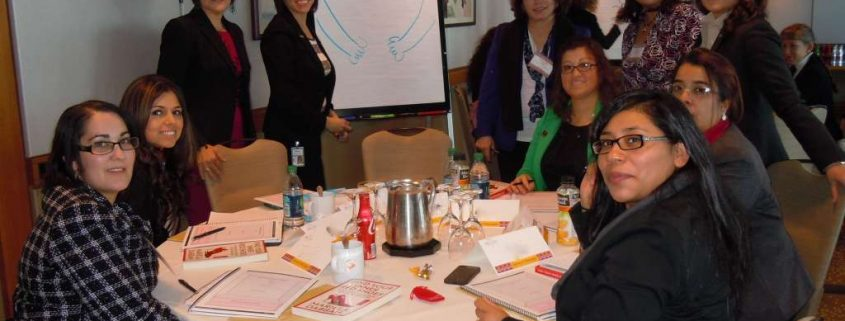 """Big sisters"", senior women within the organization collaborate with professional facilitator to carry out leadership development program"