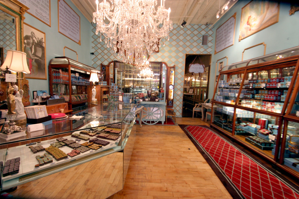 MarieBelle, a chocolate boutique in Soho - Successful women in business