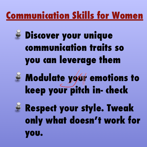 Communication skills for women: great tips