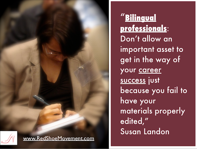 Bilingual professionals: Make sure to leverage all your assets