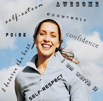A great way of improving self esteem is by training your mind to think positive thoughts Photo Credit: homehealth.us