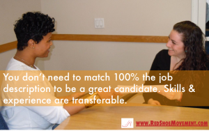 Take a risk! You don't need to be a perfect match to be a great candidate for a job. Read how to handle tough interview questions and ace that interview!!