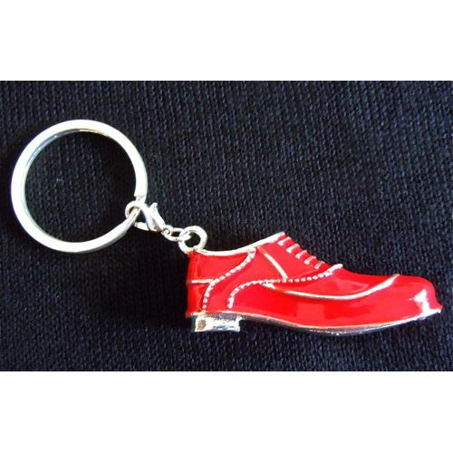 Red Shoe Keychain