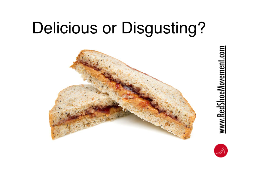 What is Cultural Sensitivity? A peanut butter and jelly sandwich is delicious to some and disgusting to others.