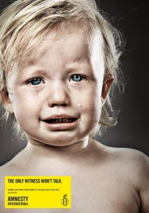 The only witness won't talk. Women suffering from domestic violence need your help - Amnesty International Campaing Against Domestic Violence - Domestic Violence Stories