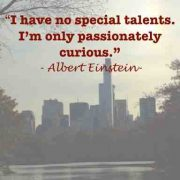 One of the good qualities of a leader is passion. - Albert Einstein talent quote